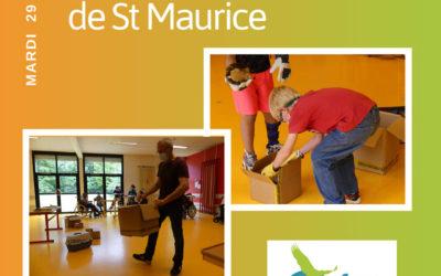 Faune Alfort à l'hôpital pour enfants de Saint-Maurice.